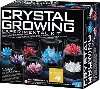 4M Crystal Growing Chemistry Set
