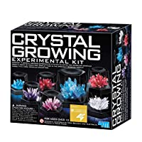 4M 5557 Crystal Growing Science Experimental Kit - Easy DIY Stem Toys Lab Experiment...