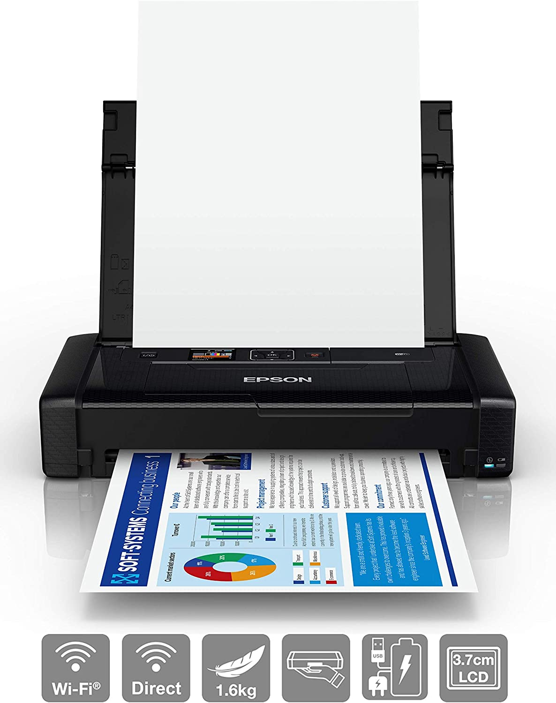 Epson Workforce WF-110W - Impresora de inyección de Tinta portátil ...