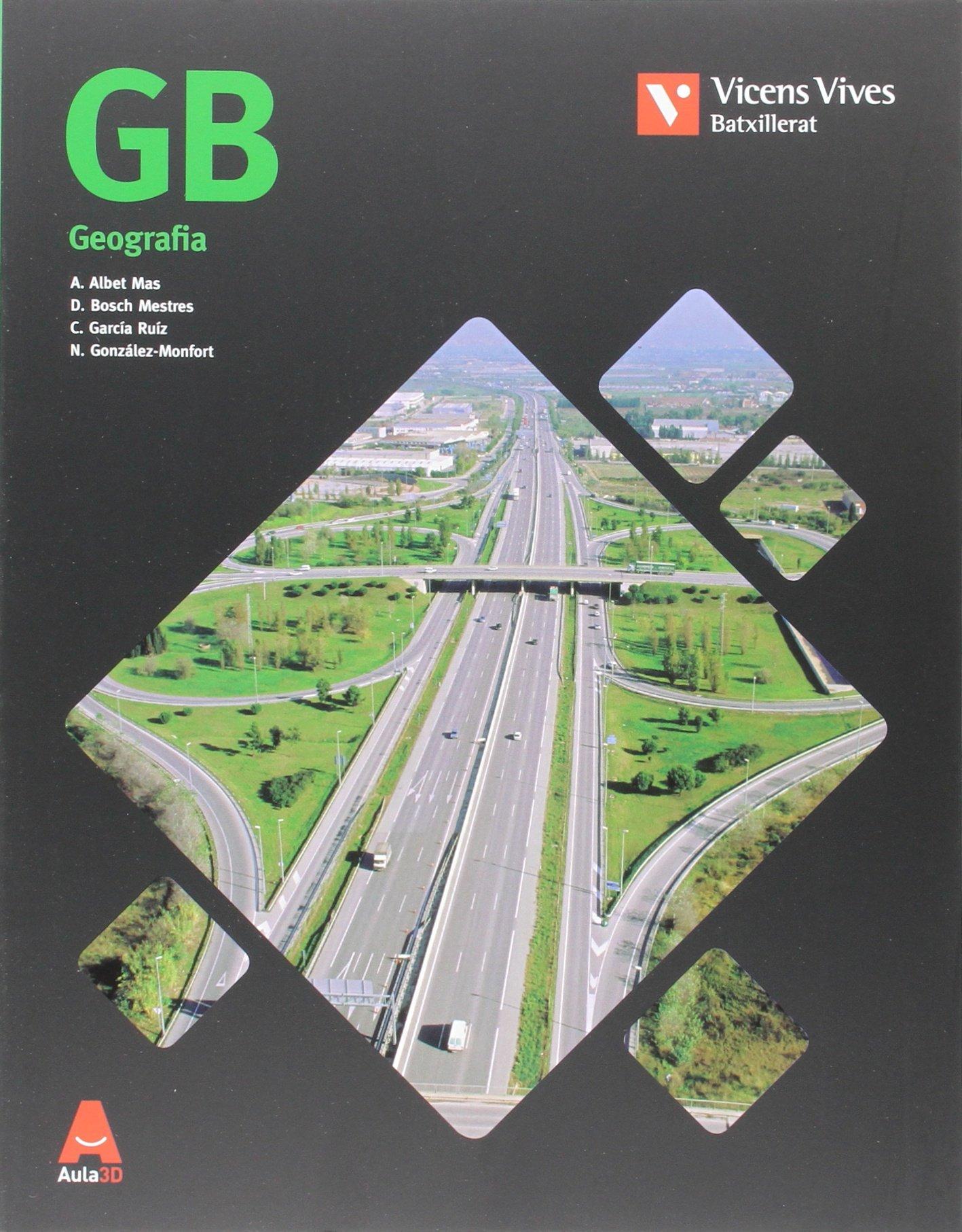 Read Online GB (GEOGRAFIA) BATXILLERAT AULA 3D pdf epub