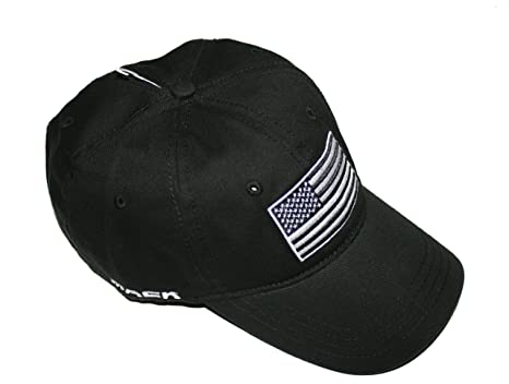 Image Unavailable. Image not available for. Color  Mack Trucks Black Tactical  USA Flag Patch Born Ready Hat c2a539d0db5