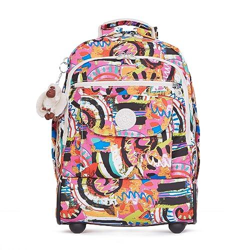 Kipling - Sanaa impresa, mochila con ruedas Para mujer: Amazon.es: Ropa y accesorios
