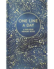 Celestial One Line a Day: (Blank Journal for Daily Reflections, 5 Year Diary Book) (Journals)