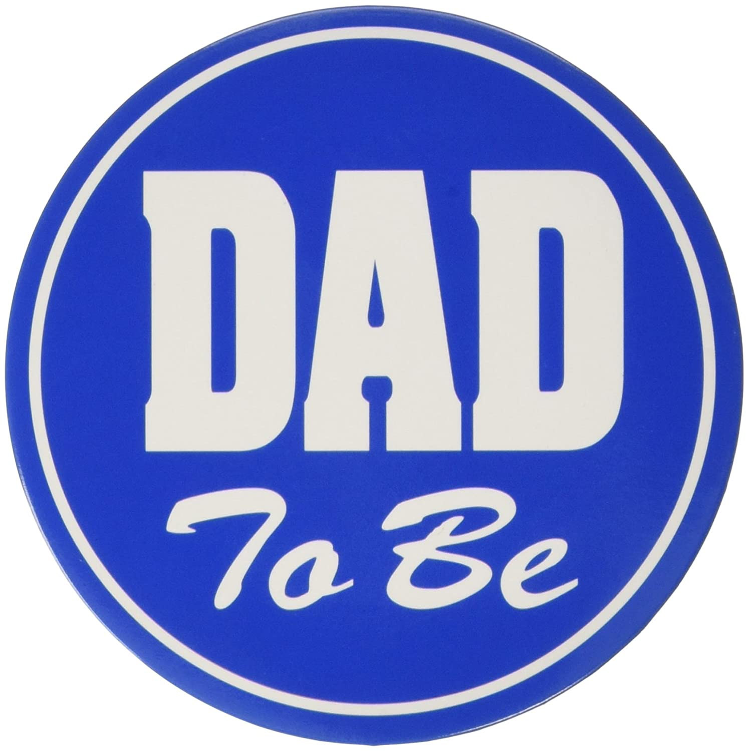 Beistle 60459 Dad to be Button, 3-1/2-Inch The Beistle Company