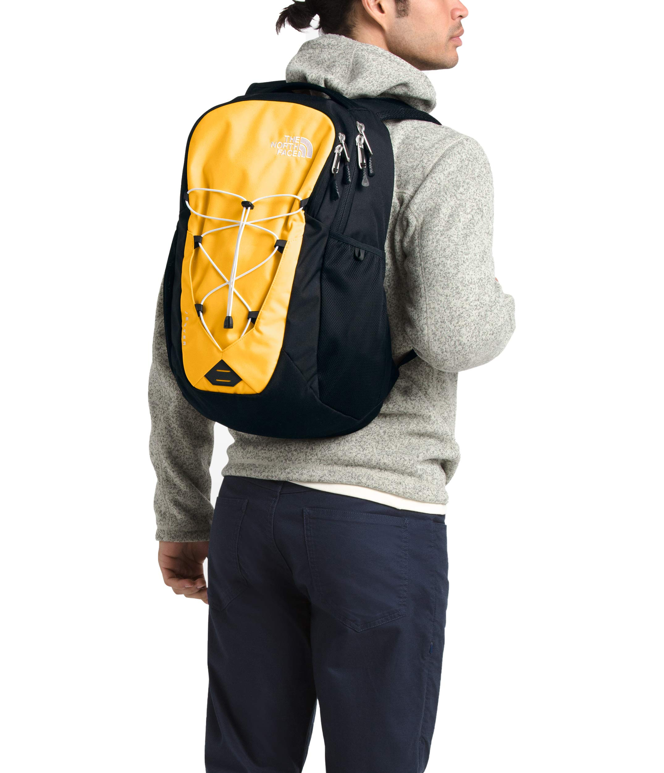 The North Face Jester Backpack, TNF Yellow/TNF Black by The North Face