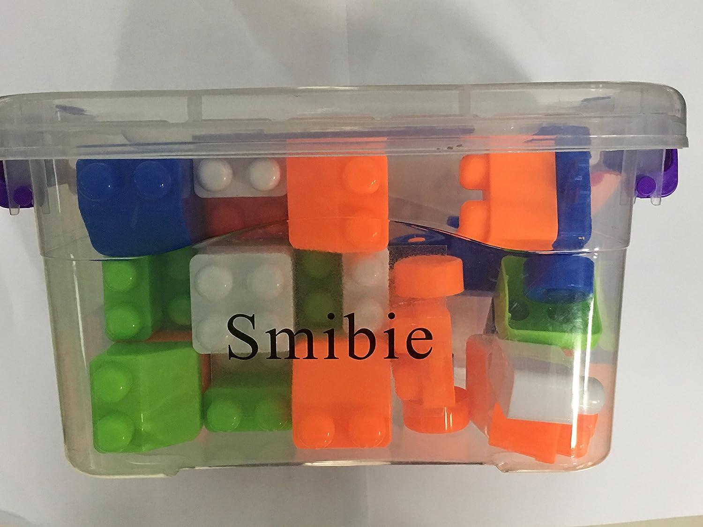 smibie DIYビルディングブロック玩具、カラフルなプラスチックパズルキットfor Kids   B07D3M1YB2
