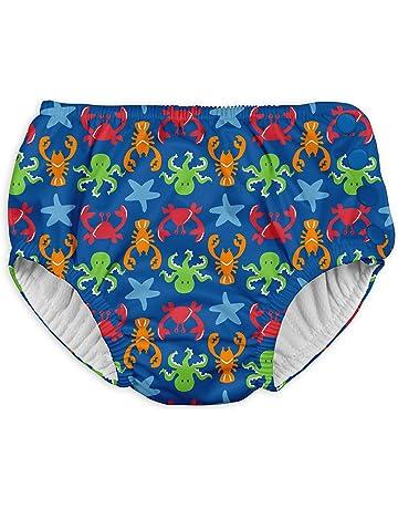 726f4355e I-Play. Boys Snap Reusable Absorbent Swimsuit Diaper Swim Diaper - Blue - 4