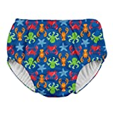 i play. Baby Boys Snap Reusable Absorbent Swimsuit