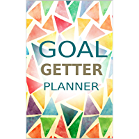 """Goal Getter Planner: Goal Getter Journal, Daily Goal Setting Planner, Daily Productivity Planner, Goal Getter Book, Portable Goal Getter, Pocket Size 5.06""""x7.81"""" 170 Pages. (English Edition)"""