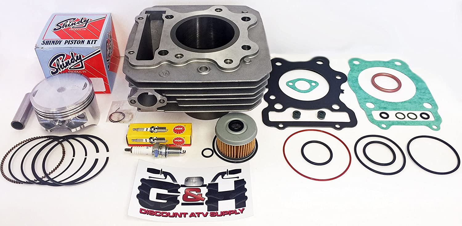 NEW QUALITY Cylinder Top End Rebuild Kit for the 1985-1987 Honda TRX 250 Fourtrax