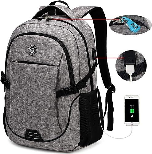 SOLDIERKNIFE Durable Waterproof Anti-Theft Laptop Backpack