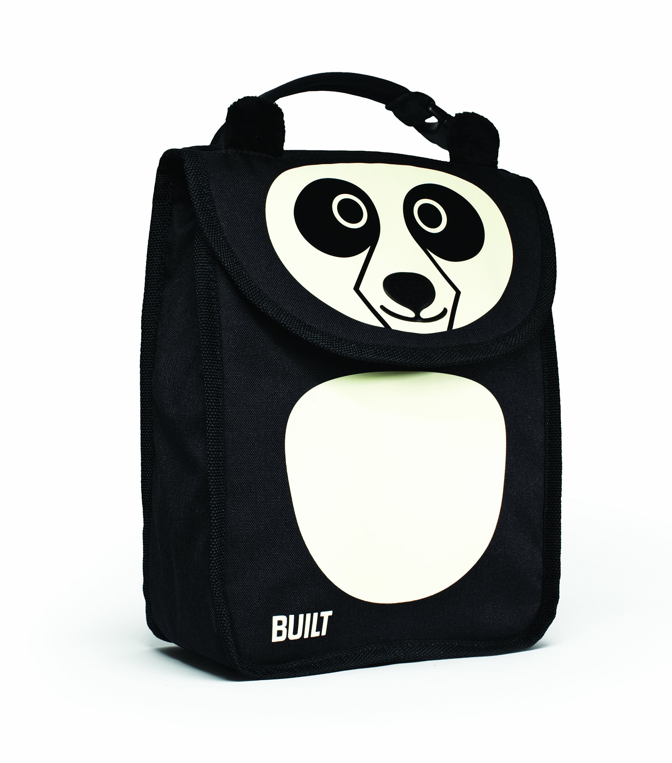 BUILT NY Big Apple Buddies Insulated Lunch Sack, Pearl Panda