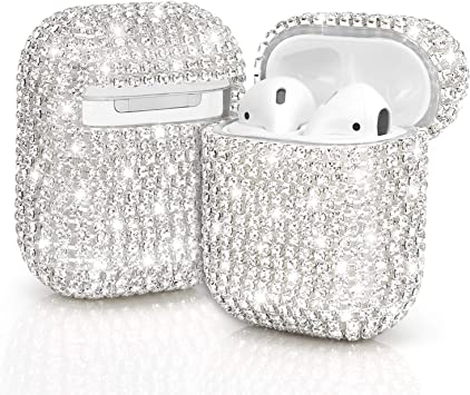 Amazon Com Jieliele Airpods Cases Bling Diamond Airpods Case