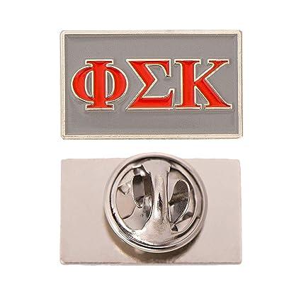 Amazon Com Scotty Phi Sigma Kappa Fraternity Letter Lapel Pin
