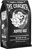 Koffee Kult Eye Cracker Espresso Beans - Bright, Bold Medium Roast with a Citrus Twist Coffee (12oz)
