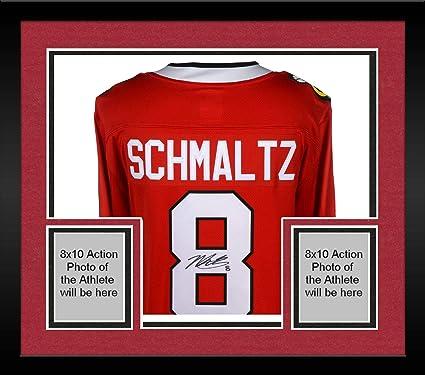 Framed Nick Schmaltz Chicago Blackhawks Autographed Red Fanatics Breakaway  Jersey - Fanatics Authentic Certified b4f498b78