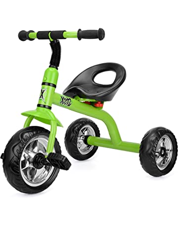 ce00f90eb7b Xootz Tricycle for Kids, Trike Easy Clip and Portable - Green. #2