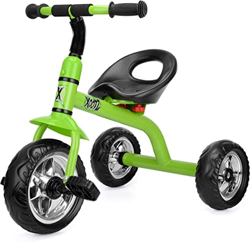 Xootz Tricycle for Kids, Trike Easy Clip and Portable