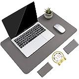 Non-Slip Desk pad,New Material Leather Desk Blotter Pad,Soft Surface Desk Mat,Easy Clean Laptop Desk Writing Mat for Office/H