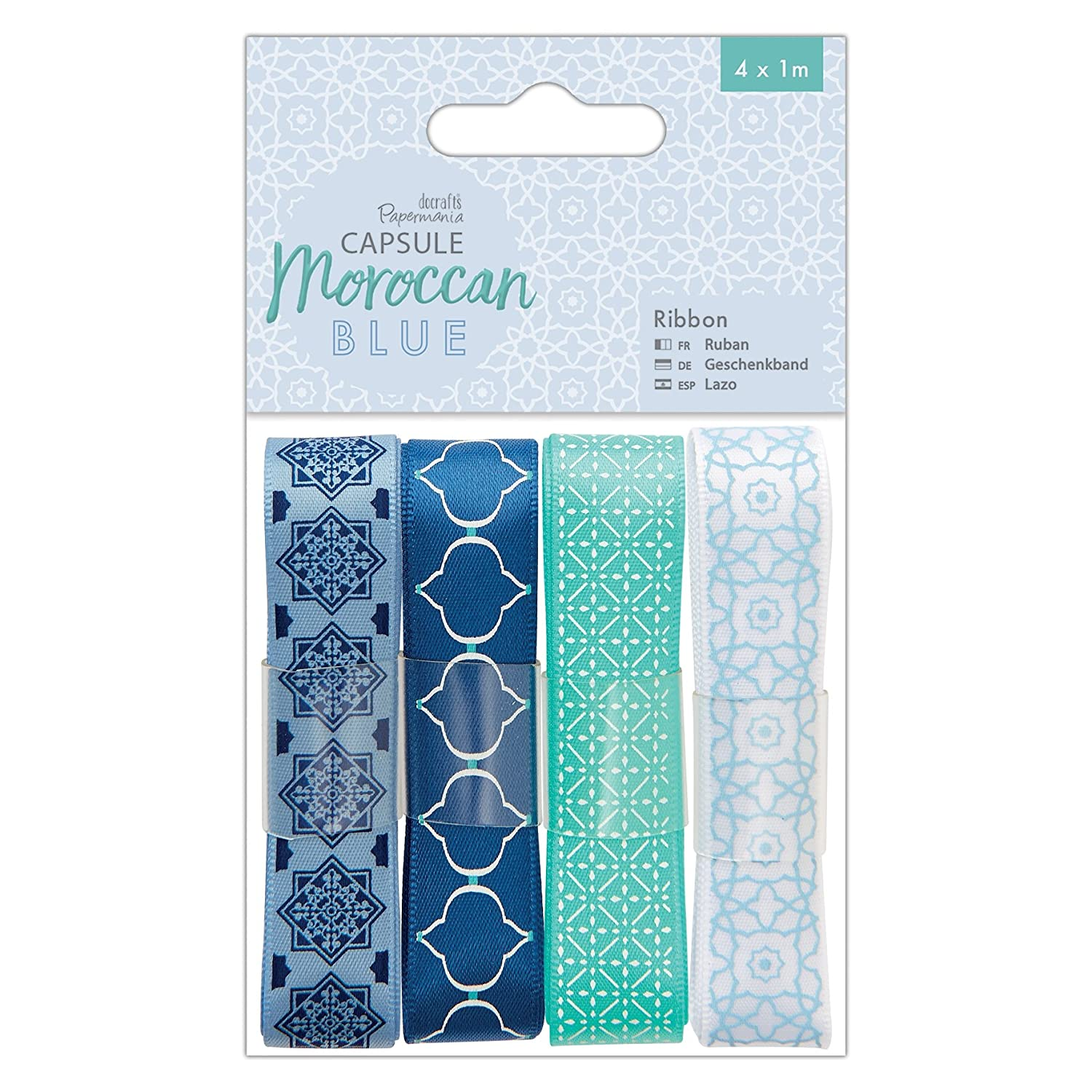 Blue Paper Papermania Capsule Pack of 32 Pack 32 x 34.8 x 0.8 cm