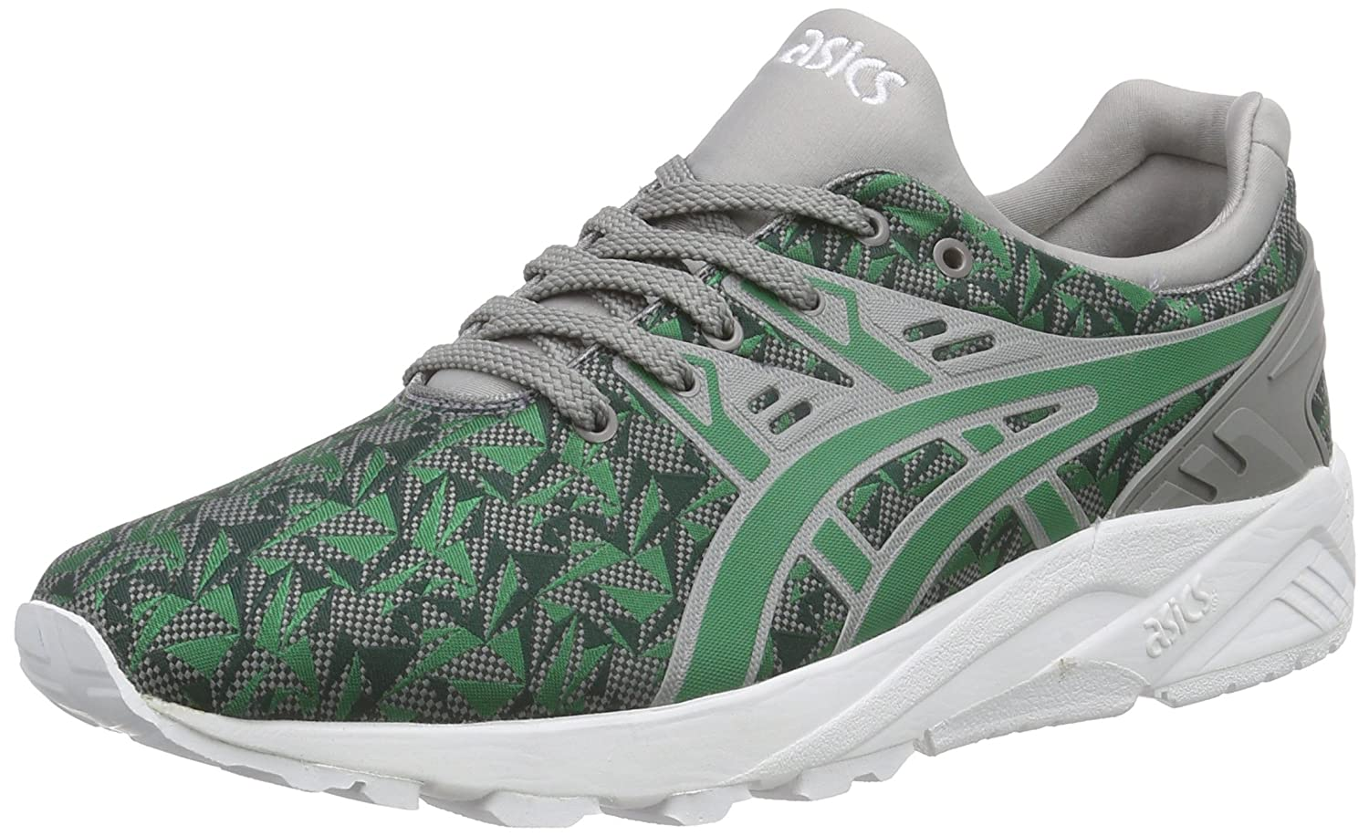 Asics - Gel-Kayano Trainer EVO, Zapatillas Unisex Adulto 40.5 EU|Verde (Green/Green 8484)