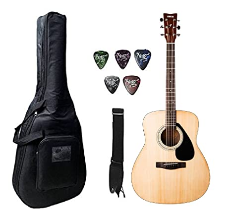Yamaha F310 Nat Acoustic Guitar Natural With Case Amazon In