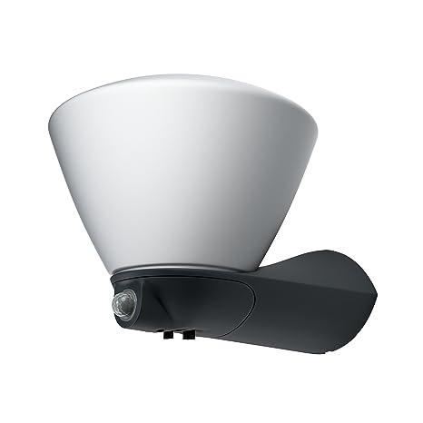 Osram Luminaria LED de Exterior, 7 W, Gris, Aplique con Sensor