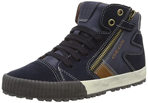 Geox Jr Mythos - Zapatillas de Deporte para niño, Color Azul, Talla 33: Amazon.es: Zapatos y complementos