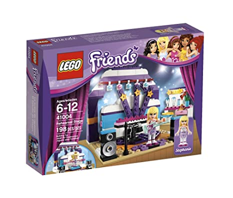 Amazon.com: LEGO Friends Rehearsal Stage 41004: Toys & Games