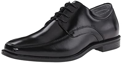 Florsheim Men's Forum Moc Toe Oxford, Black, ...
