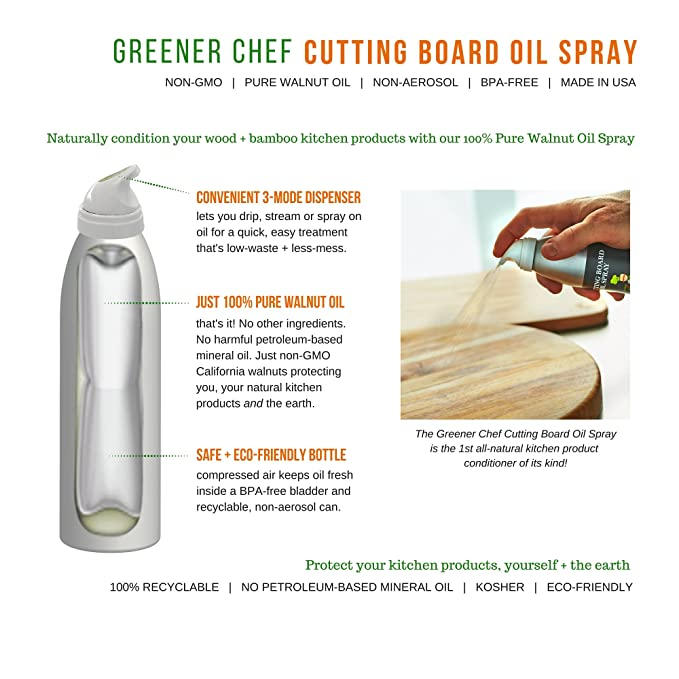 Amazon Food Grade Cutting Board Oil Spray And Wood Furniture
