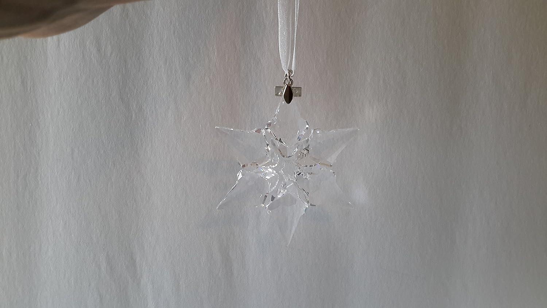 Swarovski 2000 Christmas Ornament Part - 24: Amazon.com: Swarovski 2000 Annual Christmas Snowflake / Star Ornament: Home  U0026 Kitchen