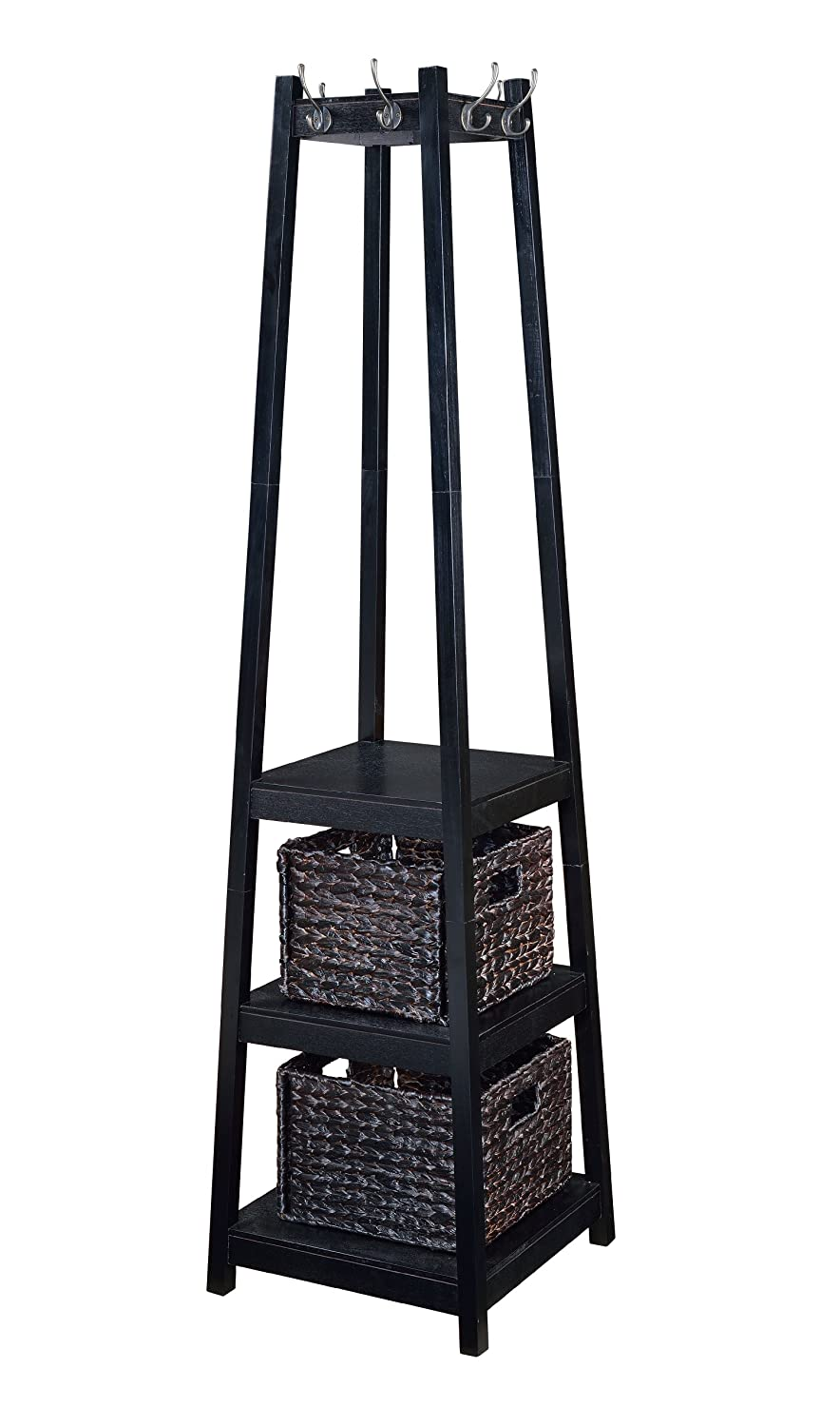Ordinaire H2O Coat Rack Tower Free Standing With 2 Storage Baskets, 72 Inch,  Espresso: Amazon.ca: Home U0026 Kitchen