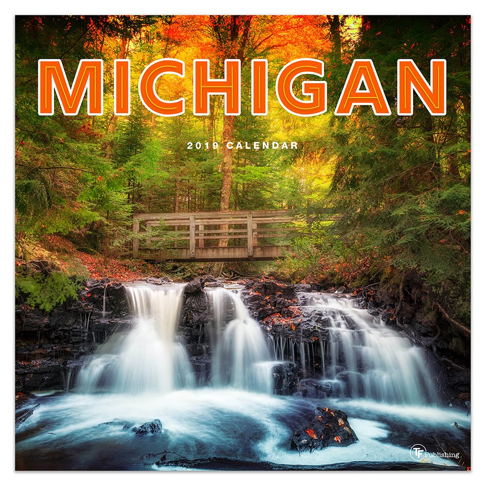Michigan Calendar 2019 Michigan 2019 Calendar: TF Publishing: 9781683755876: Amazon.