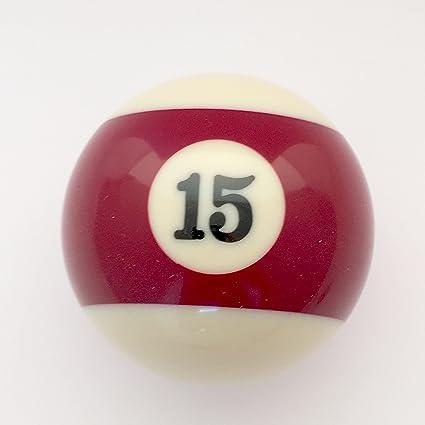 Custom billar bolas de billar pomo de la palanca # 15: Amazon.es ...