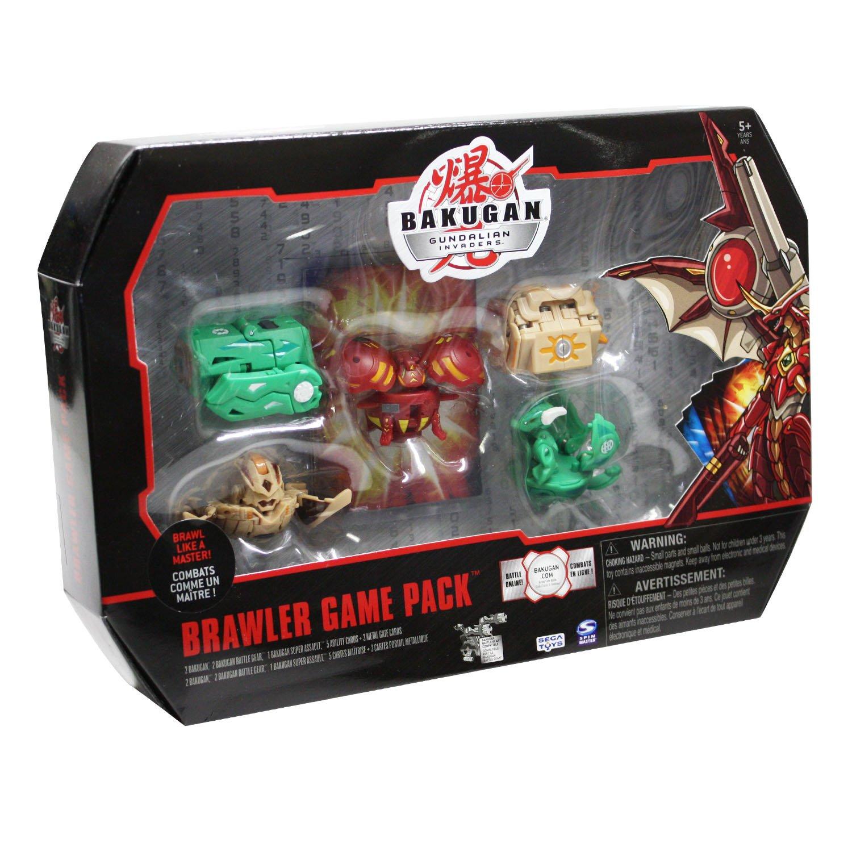 Amazon.com: bakugan brawlers game pack (colors/styles vary): toys ...
