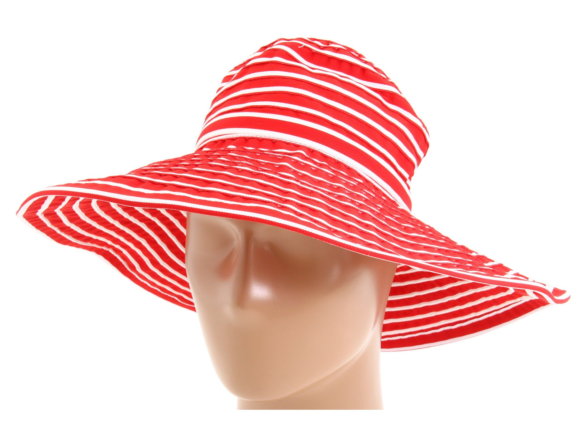 San Diego Hat Company Women's arge Brim Hat O/S Red