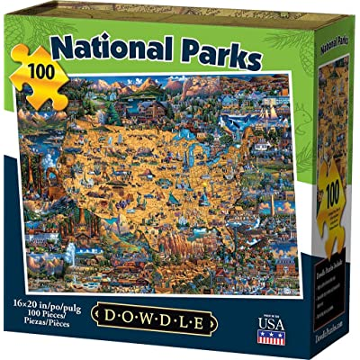 Dowdle Jigsaw Puzzle - National Parks - 100 Piece: Toys & Games