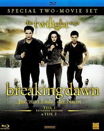 Breaking Dawn Biss Zum Ende Der Nacht Teil 1 2 Limit Blu Ray