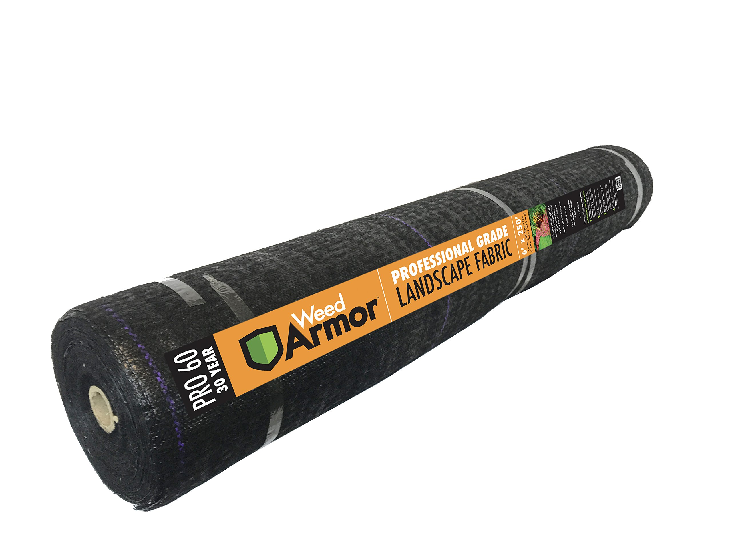 Weed Armor Pro 60, 30 Year Needlepunch Woven Landscape Fabric (Other, 6'x250')