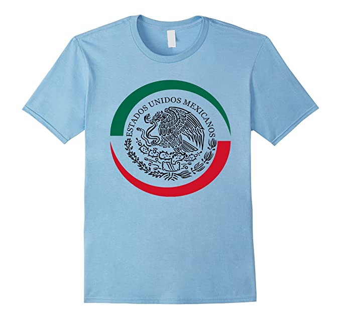 Amazon Com I Love Mexico Mexican Golden Eagle Flag T Shirt Tee