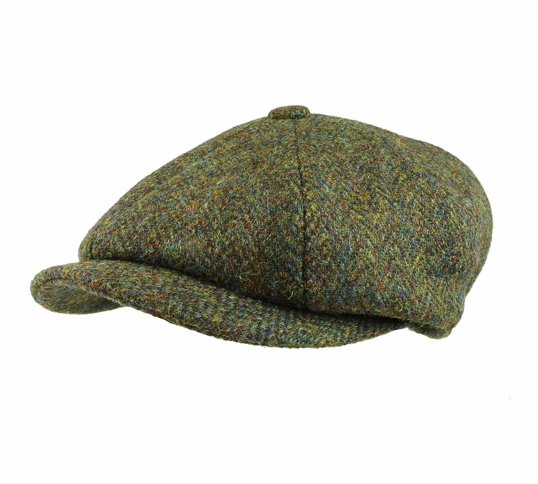 a5d87ea7790 Earland Brothers Failsworth Failsworth Hats Carloway 8-Piece Bakerboy  Harris Tweed Green 2016