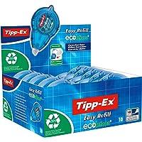 Tipp-Ex ECOlutions Easy Refill Korrekturroller – Korrekturband 14m x 5mm – 10er Pack