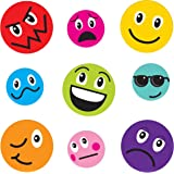 Gel Art Funny Faces Window Decorations - Medium sized pack of 3D Printed Gels that stick to windows & mirrors etc
