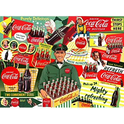 Buffalo Games - Coca-Cola - 50's Special Delivery - 1000 Piece Jigsaw Puzzle: Toys & Games