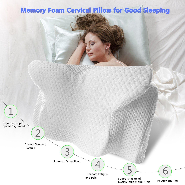 Amazon Com Cervical Pillow Contour Pillow For Neck And Shoulder