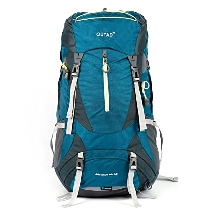 e89042864a OUTAD 65L(60L+5L) Hiking Backpack, Camping Backpacking Mountaineering  Hiking Multi-