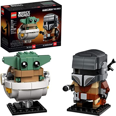 LEGO Star Wars The Mandalorian & The Child Figures (295 Pieces)