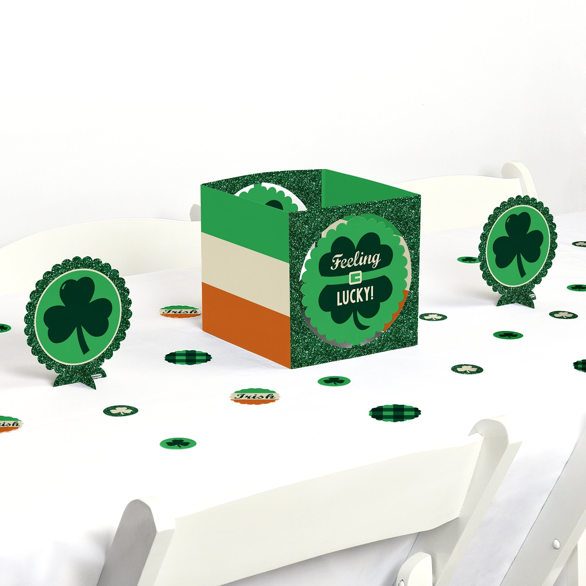 Big Dot of Happiness St. Patrick's Day - Saint Patty's Day Party Centerpiece & Table Decoration Kit by Big Dot of Happiness (Image #1)