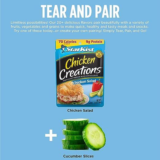 Starkist Chicken Creations Chicken Salad 12 Count Amazon